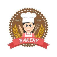 Sweet bakery and bread labels design for sweets shop, cake, cafe vector