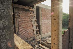 Textura y fondo de albañil y muro de hormigón. foto