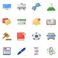 Learning and Educational  Accessories vector