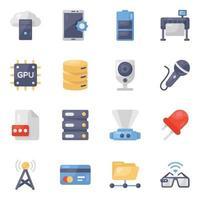 Modern Technological Gadgets vector