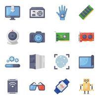 Modern  Media Gadgets vector