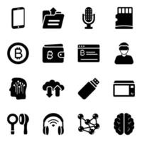 Technological  and Gadgets vector