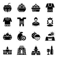 African Cultural Elements vector