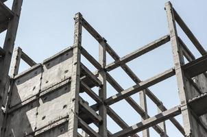 Concrete frame for building photo
