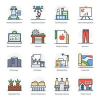 Industrial and Factory Automation vector