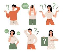 People think in different positions vector