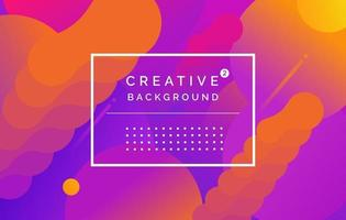 Violet-red space background with active elements for design. Vector illustration