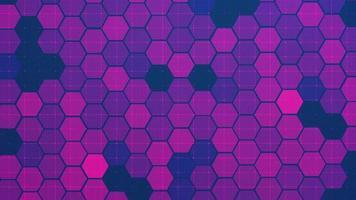 fundo digital hexagonal semelhante a um favo de mel