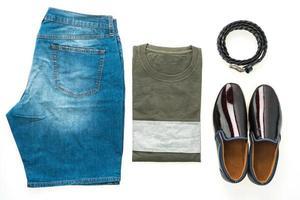 Men clothes set photo