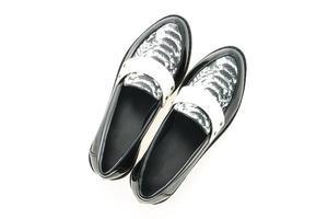 zapatos de cuero mujer foto