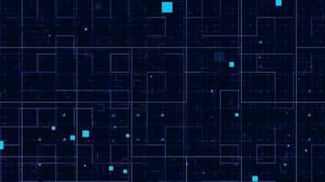 fundo de padrão de grade abstrato para temas de negócios, ficção científica, tecnologia ou indústria