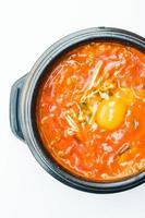 Korea spicy soup photo