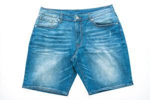 Short jeans pants photo
