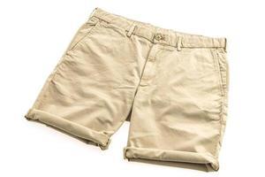 pantalones chinos marrones foto
