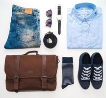 Beautiful fashion clothes set for men photo