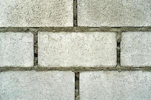 Abstract texture and background of concrete bricklayer wall at the construction site