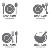 icono de cocina herramientas de cocina vector diseño plano