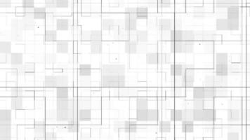 White Background with Technology Grid Pattern for Business, Architecture, or Engineering Structure