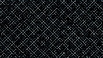 Fondo de patrón de tecnología digital de cuadrícula abstracta video