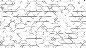 Abstract Grid Digital Technology Pattern Background