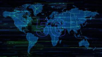 5G Business Technology Concept