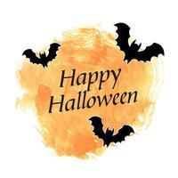 happy halloween banner vector