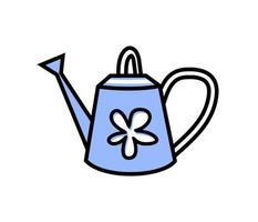 garden watering can - vector illustration on white background