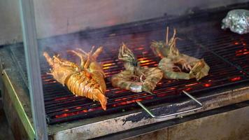 Shrimp and Prawn on the Grill