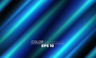 Blue Ocean Abstract Lines glowing shape Background vector