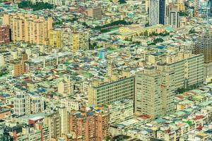 paisaje urbano de la ciudad de taipei en taiwán