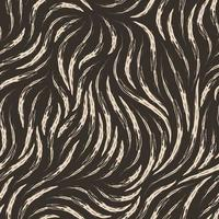 Vector textura fluida de color beige de suaves líneas rasgadas aisladas sobre fondo oscuro.