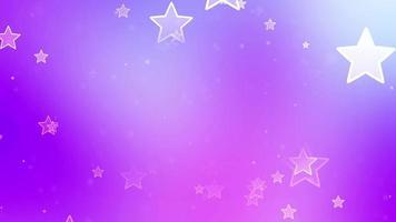 fundo do quadro de estrelas flutuantes