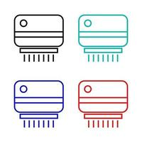 Air Conditioning Icon On White Background vector
