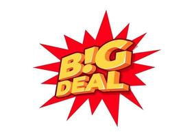gran oferta, etiqueta de venta, plantilla de diseño de cartel, etiqueta de descuento aislado, vector. vector