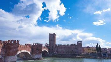 castelvecchio em verona, itália