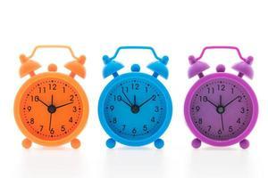 coloridos relojes de alarma