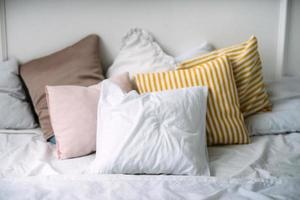 Pillows on a bad photo