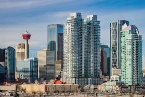 Calgary city skyline photo