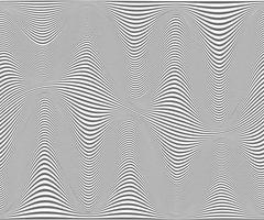 Fondo de rayas onduladas - textura simple para su diseño. vector eps10