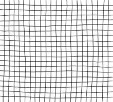 Libro de ejercicios de hoja de cálculo blanco en blanco abstracto, papel cuadrado, diseño dibujado a mano, cuadrícula de rayas geométricas sin patrón vector eps 10 ilustración
