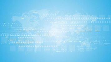 Fondo de tecnología en el concepto de comunicación digital. vector