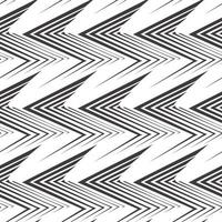 Seamless vector pattern of uneven black lines drawn with a pen in the form of corners or zigzag.