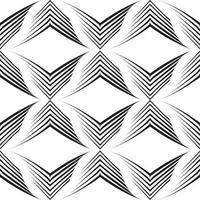 patrón de vector transparente de líneas desiguales en forma de esquinas.