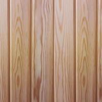 tablones de madera de vector en estilo realista. Revestimiento ecológico para saunas y baños de vapor.