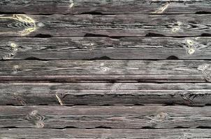 pattern old wooden planks with yellow paint photo