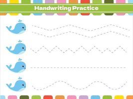 juego educativo de rastreo para niños vector