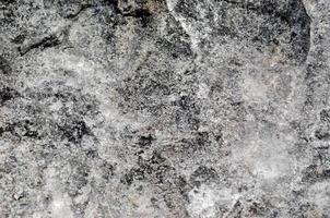 Rough gray rock photo