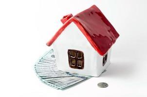 casa con dinero foto