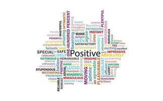 Positive thinking 99 Words for communication and affirmation.