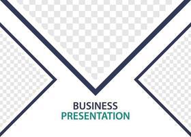 plantilla de diseño de presentación de negocios. perfecto para folletos, promoción de marketing, infografías, etc. vector
